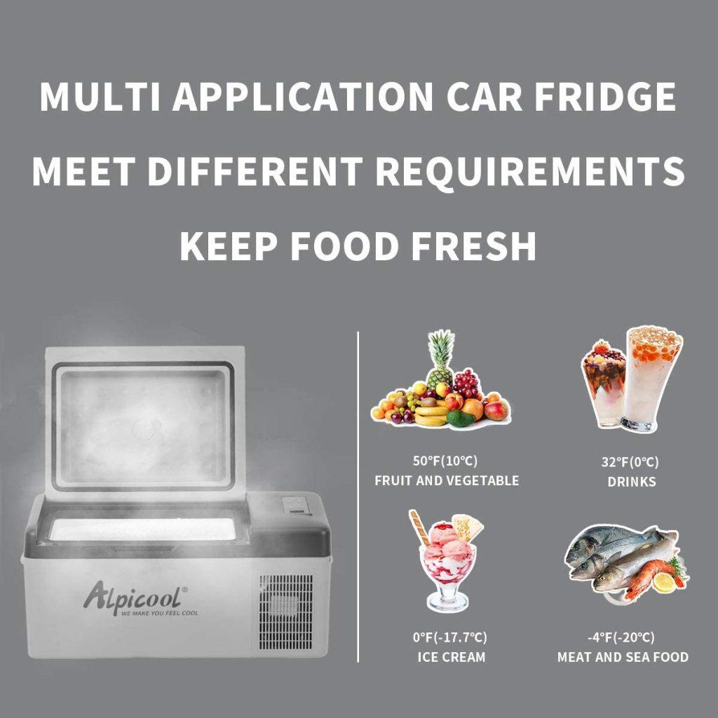 Alpicool Portable Refrigerator
